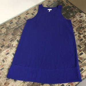 Leith :: Sleeveless Blue Dress :: Size M